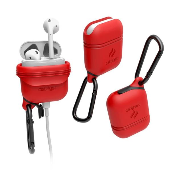 Catalyst® Waterproof Case for AirPods - Red CATAPDRED