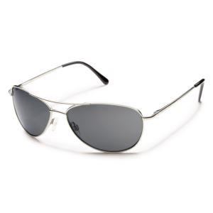 Suncloud Patrol Polarized Sunglasses -  Silver/Gray S-PTPPGYSV