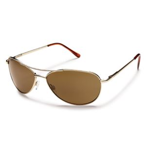 Suncloud Patrol Polarized Sunglasses -  Gold/Brown S-PTPPBRGD