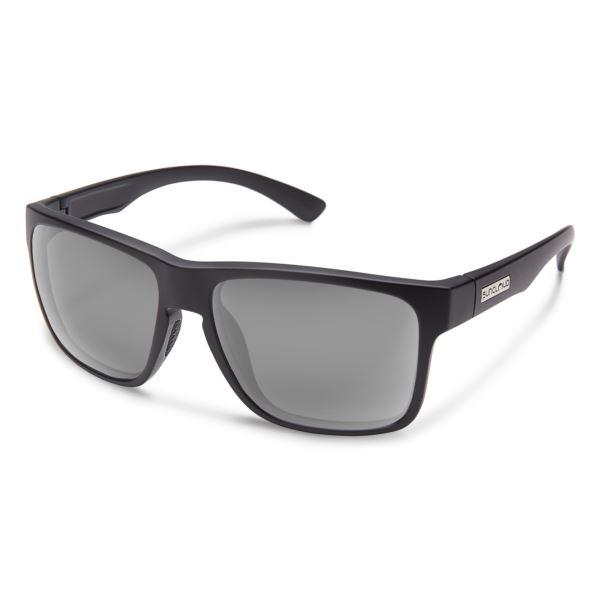 Suncloud Rambler Polarized Sunglasses -  Matte Black/Gray S-RBPPGYMB