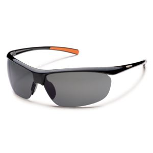 Suncloud Zephyr Polarized Sunglasses -  Black/Gray S-ZEPPGYBK