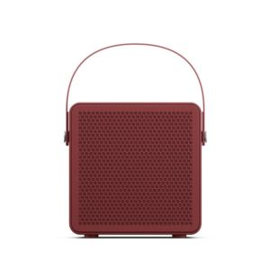 RALIS Portable Wireless/Bluetooth Speaker, Haute Red 1002746