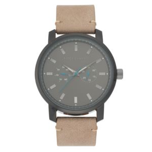 Men's Taupe Strap Watch VC-1142BKDG