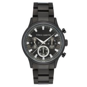 Men's Gunmetal Stainless Steel Bracelet Watch VC-1116GYGN
