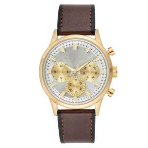 Men's Brown Strap Watch VC-1106SVGP