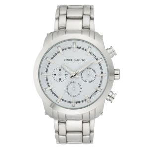 Men's Stainless Steel Bracelet Watch VC-1122WTSV
