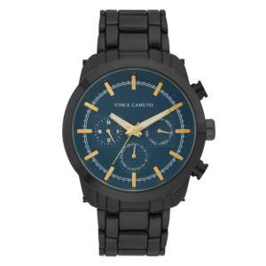 Men's Gunmetal Stainless Steel Bracelet Watch VC-1122NVBK