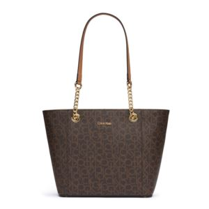 Hayden Monogram Tote - Brown/Khaki H8AAJ8DS-BKH