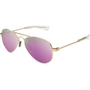 Getaway M - Gloss Rose Gold Frame / Gray With Pink Mirror Lens 8600118-941452