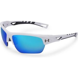 Octane - Shiny White Frame / Gray With Blue Mirror Lens 8600094-100961