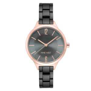 Women's Bracelet Watch - Rose Gold /Gunmetal NW-2255RGGY