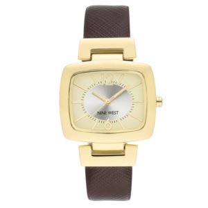 Women's Strap Watch - Gold/Brown NW-2304CHBN