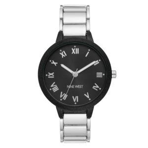 Women's Bracelet Watch - Black/Silver NW-2311BKSV