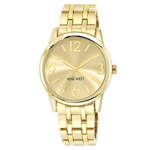 Women's Gold-Tone Bracelet Watch NW-1578CHGB