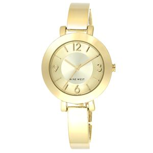 Women's Gold-Tone Bangle Bracelet Watch NW-1630CHGB