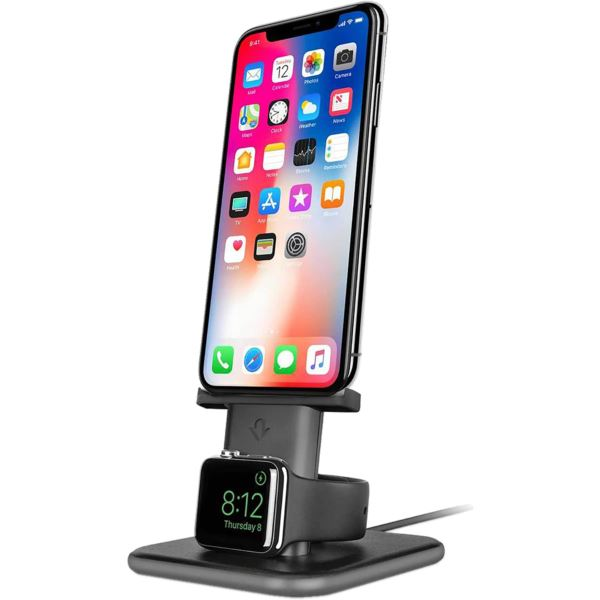 Twelve South HiRise Duet for iPhone/iPad Space Grey 12-1634