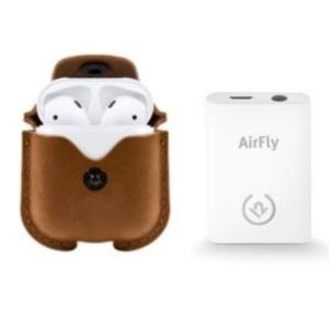 Airfly & AirSnap for AirPods in Cognac 1801-1803