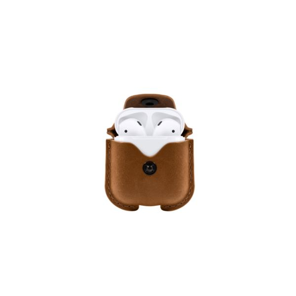 AirSnap for AirPods in Cognac 12-1803