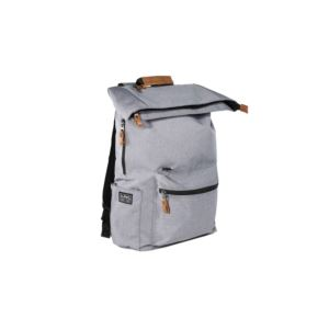 PKG Brighton Foldtop Plus Backpack - Light Grey BRIGHTON-LGRY