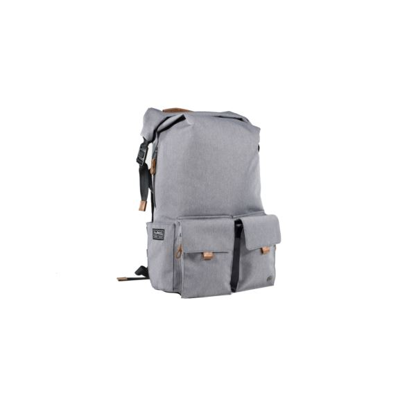 PKG Concord Rolltop Plus Backpack - Light Grey CONCORD-LGRY