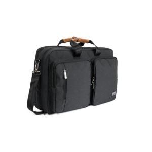 PKG Trenton Messenger/Backpack - Dark Grey TRENT-DGRY