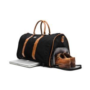 PKG Rosedale Duffel Garment Bag -  Black/Black ROSEDALE-BLBL