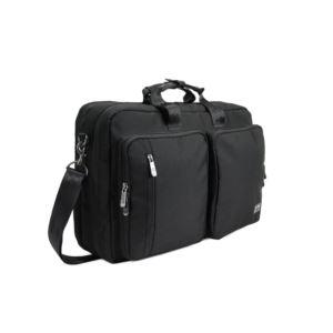 PKG Trenton Messenger/Backpack - Black/Black TRENT-BLBL