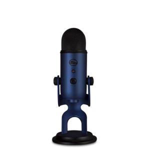 Yeti Midnight Blue, Professional Multi-Pattern USB Mic for Recording & Streaming 2117