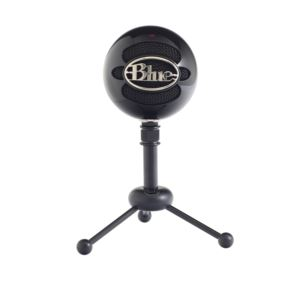 Snowball Gloss Black, Classic Studio-Quality USB Microphone 1912