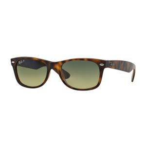 Polarized New Wayfarer Sunglasses - Tortoise Matte/Green 0RB21328947652