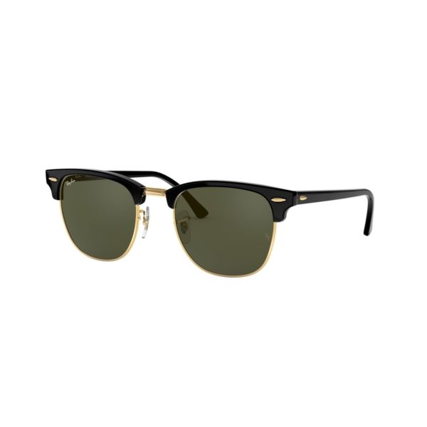 Clubmaster Sunglasses - Black 0RB3016W036549