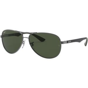 RB8313 Aviator Sunglasses - Carbon Fibre/Gunmetal 0RB8313004N561