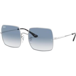 Square Evolve Sunglasses - Silver/Light Blue Photocromic 0RB19719149AD54