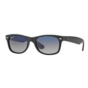 Polarized New Wayfarer Sunglasses - Matte Black/Blue 0RB2132601S78