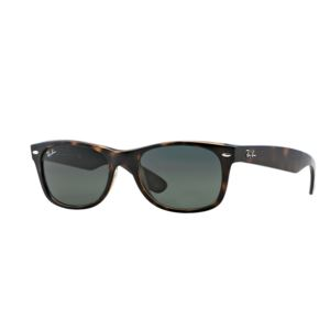 New Wayfarer Sunglasses - Tortoise/Green 0RB213290252