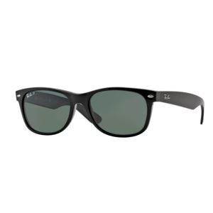 Polarized New Wayfarer Sunglasses - Black/Green 0RB21329015855