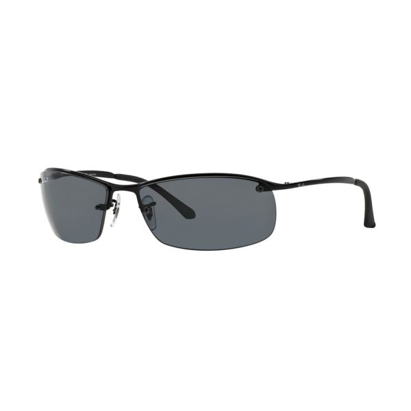 Polarized RB3183 Sunglasses - Black/Grey Gradient 0RB31830028163