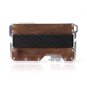 T01 Tactical Wallet - Brown Raw Hide DGO-TAC-RH