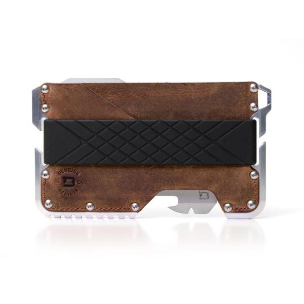 T01 Tactical Wallet - Brown Raw Hide DGO-TAC-RH