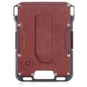 M1 Maverick Wallet - Slate Grey/Whiskey Brown DGO-M1-WB