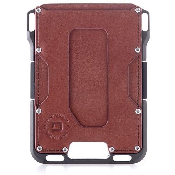 M1 Maverick Wallet - Slate Grey/Whiskey Brown DGO-M1-WB