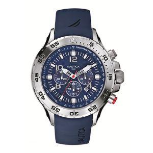 Men's Blue Resin Strap Chronograph Watch N14555G