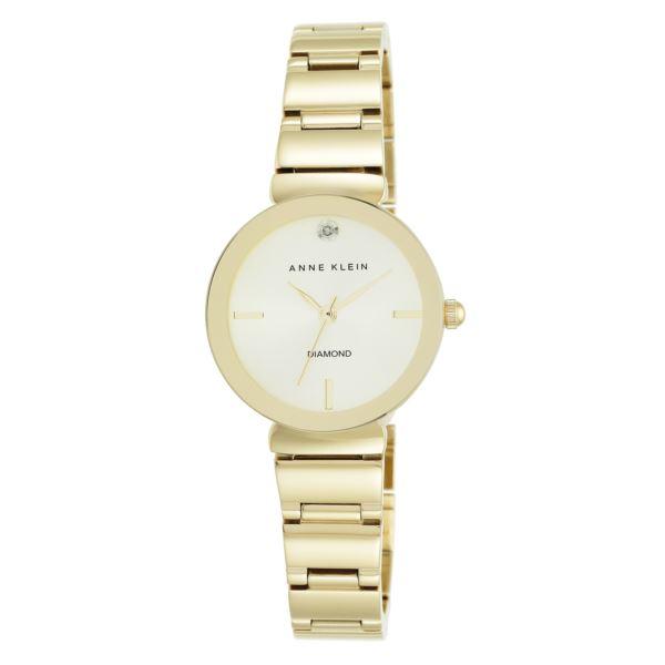 Women's Gold Diamond Accent Watch AK-2434CHGB