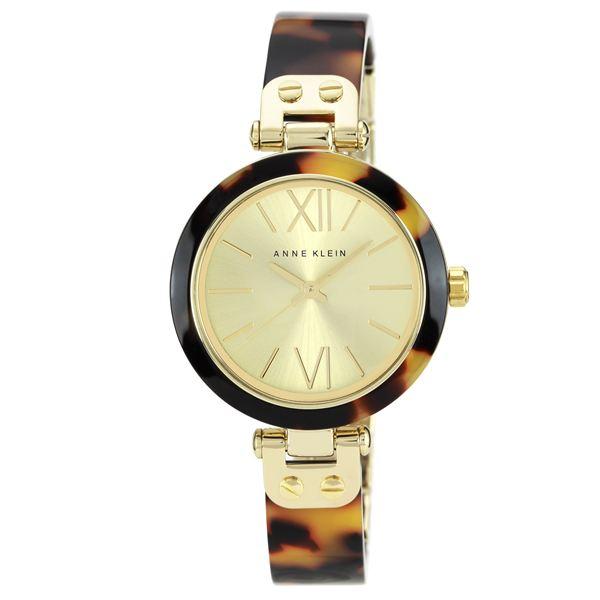Women's Gold-Tone Tortoise Bangle Watch 10-9652CHTO
