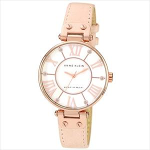 Women's Pink Leather Strap Watch 10-9918RGLP