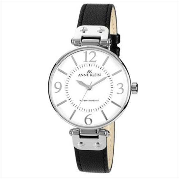 Women's Black Leather Strap Watch 10-9169WTBK