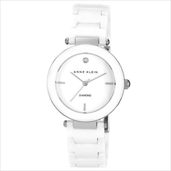 Women's Ceramic Diamond Dial White Bracelet Watch AK-1019WTWT
