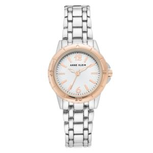 Women's Rose Gold and Silver Metal Watch AK-3059WTRT