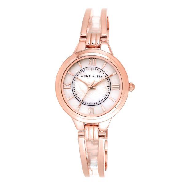 Women's Rose Gold Diamond Dial Watch AK-1440RMRG