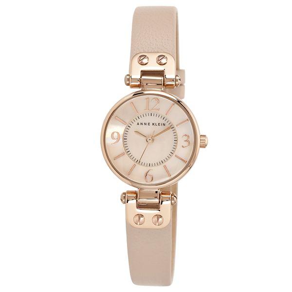 Women's Blush Leather Strap Watch 10-9442RGLP